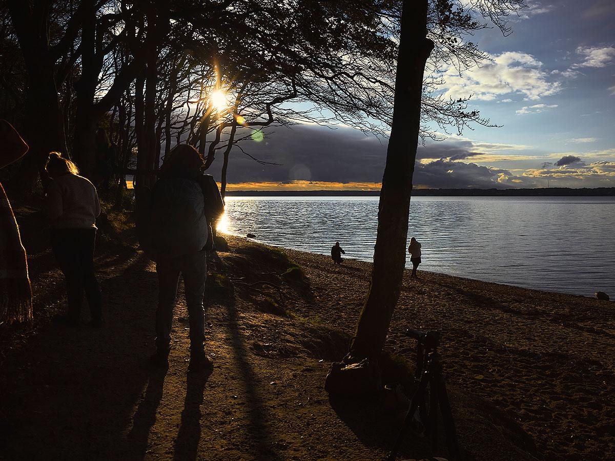 Sonnenuntergang in Quellental